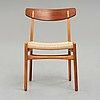 "Hans j wegner, a ""ch23"" chair for carl hansen & søn, danmark, 1950-60's."