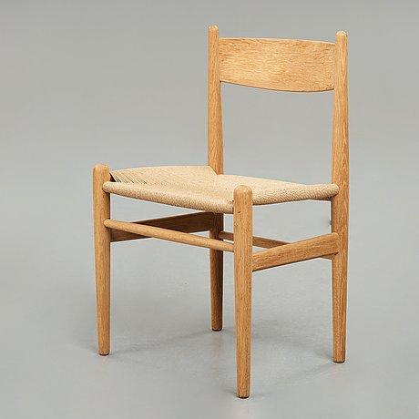 "Hans j wegner, a ""ch36"" chair, for carl hansen & søn, denmark, 1950-60's."