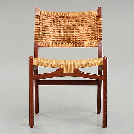 "Hans j wegner, stol, ""ch31"" carl hansen & søn, danmark, 1950-60-tal."