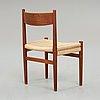 "Hans j wegner, stol, ""ch40"" carl hansen & søn, danmark, 1950-60-tal."