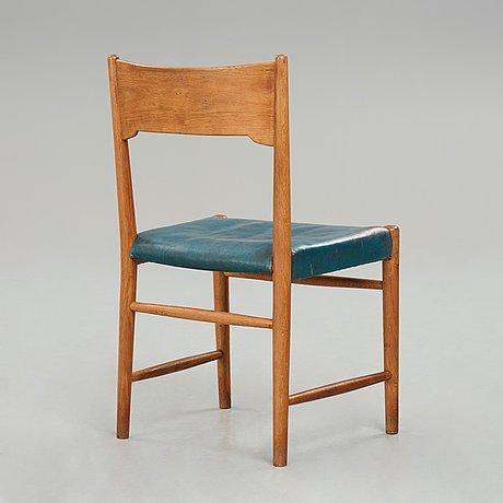 "Hans j wegner, a ""2b"", chair, plan møbler, denmark."