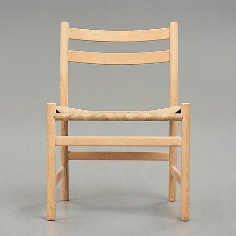 "Hans j wegner, a ""ch47"" chair for carl hansen & søn, danmark."