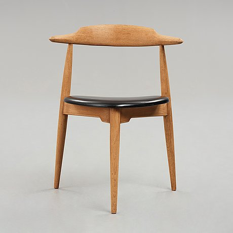 "Hans j wegner, ""the heart chair"", fritz hansen, denmark, 1950's."