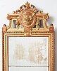 A gustavian mirror by johan Åkerblad (master in stockholm 1758-1799).