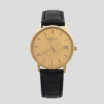 A Certina wrist watch diam 33 mm.