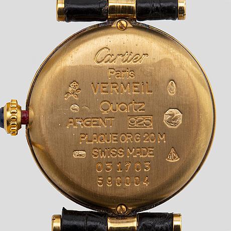 Must de cartier, vlc armbandsur, 32 mm