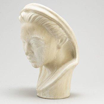 HARALD SALOMON, a stoneware sculpture, Rörstrand.