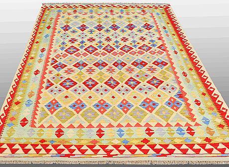 A carpet, kilim, ca 296 x 202 cm
