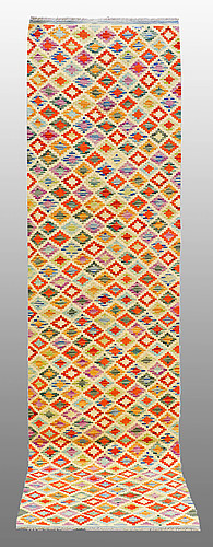 A runner kilim, ca 300 x 77 cm