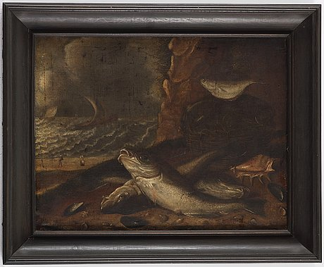 Willem ormea, in the manner. unsigned. relined canvas 46 x 60 cm.
