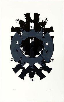 RAUL MEEL, färgserigrafi, signerad och numrerad 36/50.