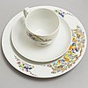 BjÖrn wiinblad, a part 'studio line' coffee porcelain service, from rosenthal (33 pieces)