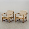 BØrge mogensen, a pair of armchairs model 2256 denmark later part of the 20th century.
