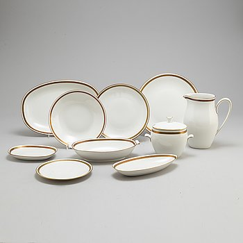 A 'elegance' part dinner service, from Rörstrand, 20th century (57 pieces).
