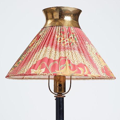Josef frank, a floor lamp, model 2597 for firma svenskt tenn, sweden, 1940's, provenance estrid ericson.