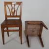 Stolar, 6 st, allmoge, 1800-tal.