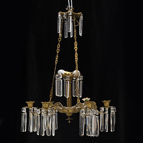 A late 19th century chandelier