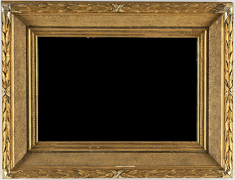 A 19th century picture frame.