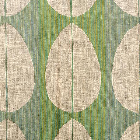 Elsa gullberg, curtains, 4 pieces, two ca 255 x 125,5, två ca 215 x 125,5 cm each,