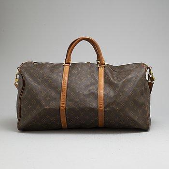 "LOUIS VUITTON, väska ""Keepall Bandouliere 55"","