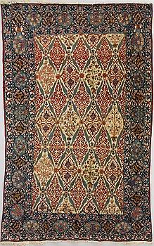 MATTA, Isfahan, antik. Ca  220x135 cm.