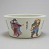 RÖkelsekar, porslin, kina, 1900-tal.