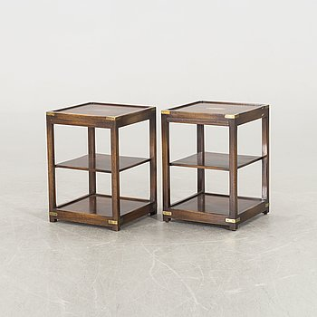 A pair of side tables / bed side tables from mid / second half of the 20th century.