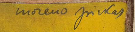 Two moreno pincas etchings, signed.