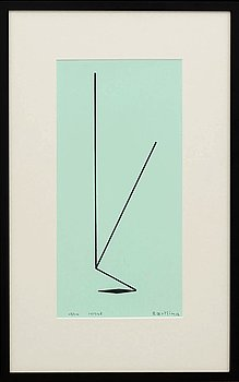 OLLE BAERTLING, OLLE BAERTLING, silkscreen, numrerad, signed Baertling.