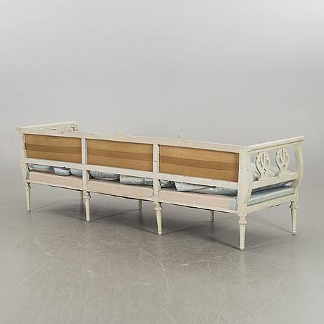 Soffa, gustaviansk, 1800 talets början