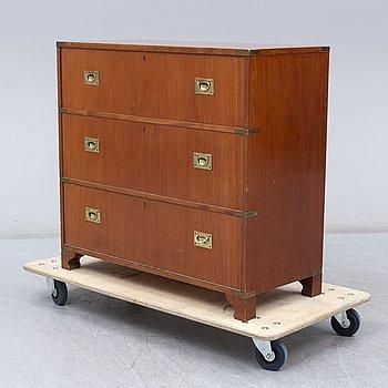 A mahogany drink's cabinet, 1960's.