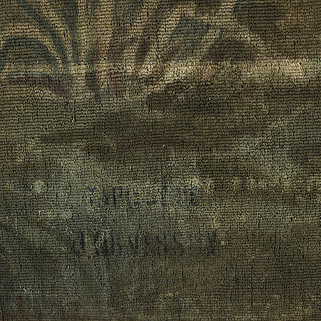 Inknown artist painted after a tapestry weave, 20th century