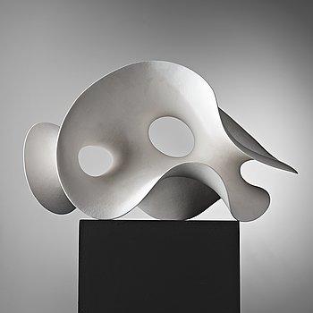 """111. Eva Hild, an engobed stoneware sculpture """"Loop 319"""", Sparsör Sweden 2005."""