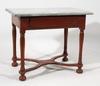 Biblioteksbord, barock, 1700/1800-tal.