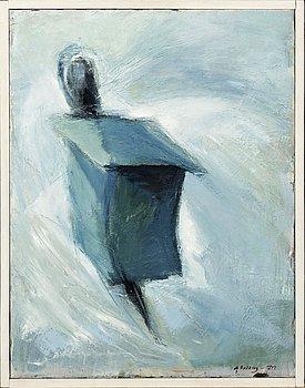 SVANTE RYDBERG, olja på duk, signerad 1970.