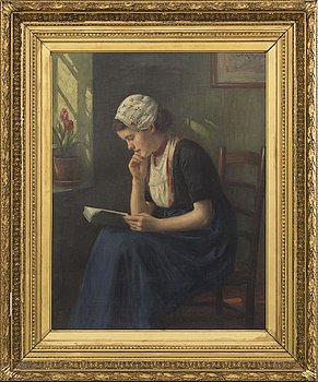 CARL WATZELHAN, a signed and dated oilpainting on canvas.