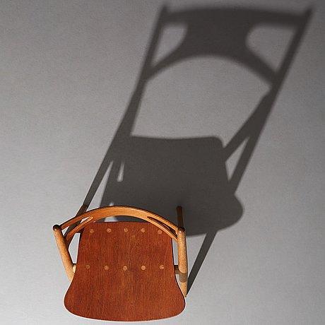 "Hans j wegner, a ""ch-29"" chair, carl hansen & søn, denmark, 1950-60's."