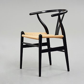 "HANS J WEGNER, a ""Wishbone Chair"",""CH24"", for Carl Hansen & Søn, Denmark."