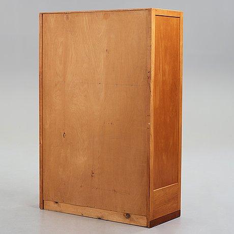 Hans j wegner, a tambour cabinet by plan møbler, for the aarhus city hall, denmark 1941.