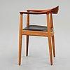 """Hans j wegner, """"the chair"""", model """"jh 503"""", johannes hansen, denmark 1950's."""