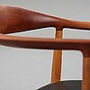 "Hans j wegner, ""the chair"", model ""jh 503"", johannes hansen, denmark 1950's."