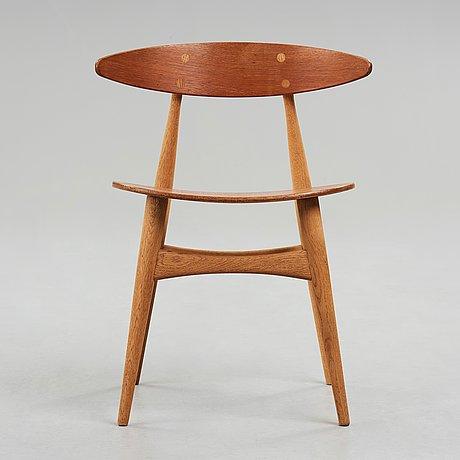 "Hans j wegner, ""ch33"", stol, carl hansen & søn, danmark 1950-60-tal."