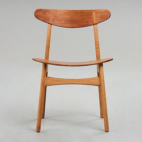 "Hans j wegner, stol ""ch30"", carl hansen & søn, danmark, 1950-60-tal."