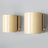 A pair of wall lamps by atelje lyktan in the second half of the 20th century