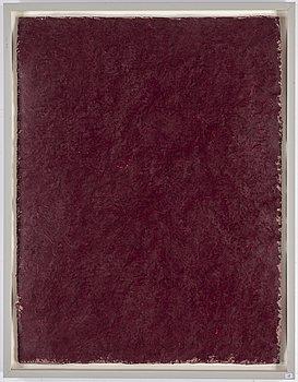 ANDERS KNUTSSON, olja och vax på handgjort Richard de Bas papper, signerad Anders Knutsson.