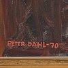 """Peter dahl, """"skål"""", no 8 from the series """"living room daydreams"""" (drömmar ur soffhörnan)."""