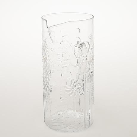 Oiva toikka, a 13 piece 'flora' glassware for nuutajärvi notsjö. in production 1966 1991