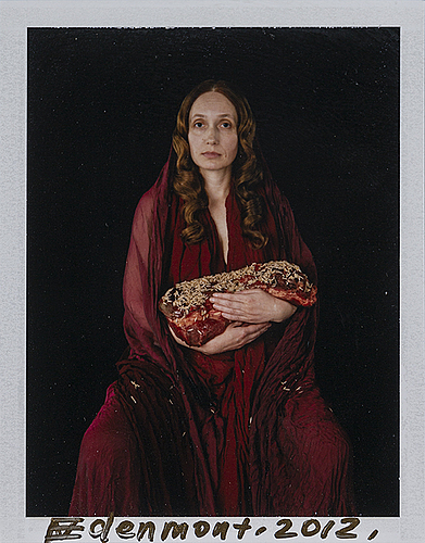 Nathalia edenmont, photograph, signed and dated 2012