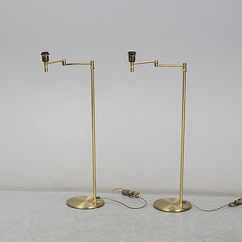 a pair of floor lights from Ewå in the second half of the 20th century.