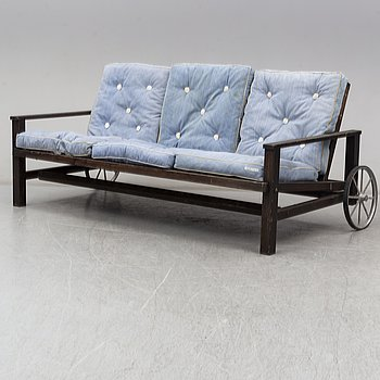 ELSA STACKELBERG, a garden sofa from the second half of the 20th century.